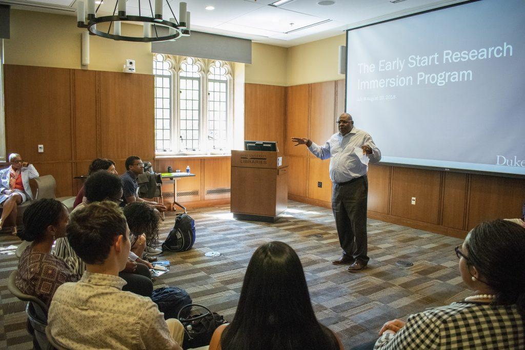 Sloan Scholars orientation